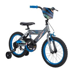 "Huffy Whirl 16"" Kids' Bike - Gray/Blue"