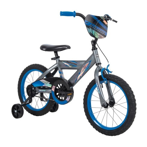 "Huffy Whirl 16"" Kids' Bike - Gray/Blue - image 1 of 4"