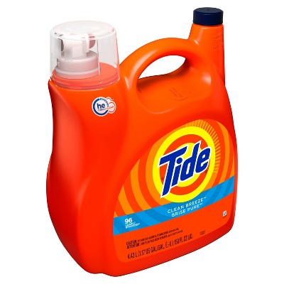 Tide Clean Breeze High Efficiency Liquid Laundry Detergent - 150 fl oz