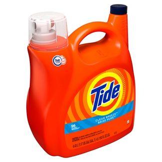 Tide Clean Breeze High Efficiency Liquid Laundry Detergent - 150 fl oz
