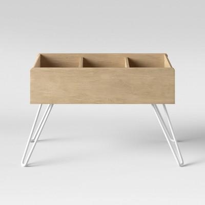 Landry Low Profile Bookcase Natural   Pillowfort™ : Target
