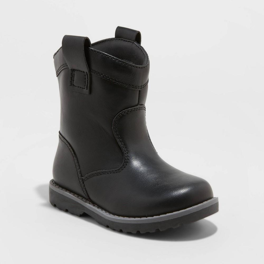 Toddler Boys 39 Hunter Slip On Fashion Boots Cat 38 Jack 8482 Black 6