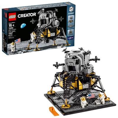 LEGO Creator Expert NASA Apollo 11 Lunar Lander Building Kit 10266