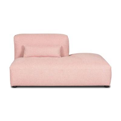 Tourbino Right Armless Chaise Modular Sofa - Poly & Bark