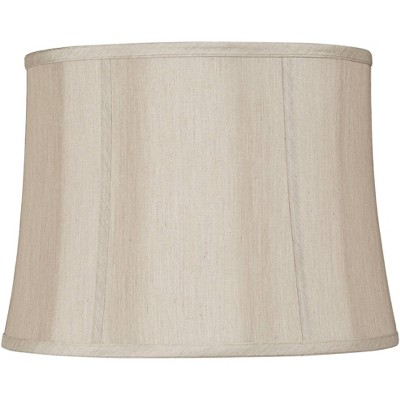 Springcrest Taupe Softback Round Lamp Shade 14x16x12x12 (Spider)