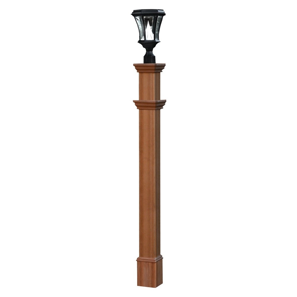 Image of New England Arbors Charleston Composite Lamp Post