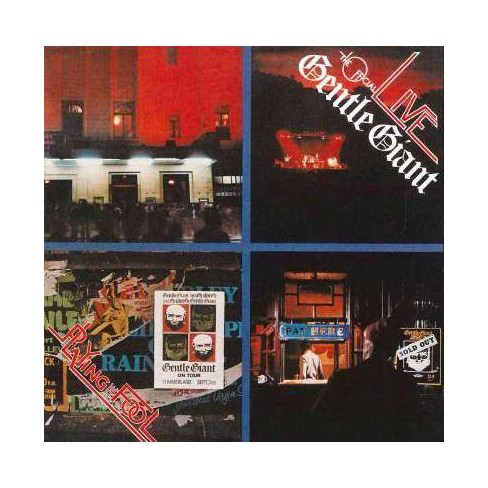 Gentle Giant - Playing The Fool (CD) - image 1 of 1