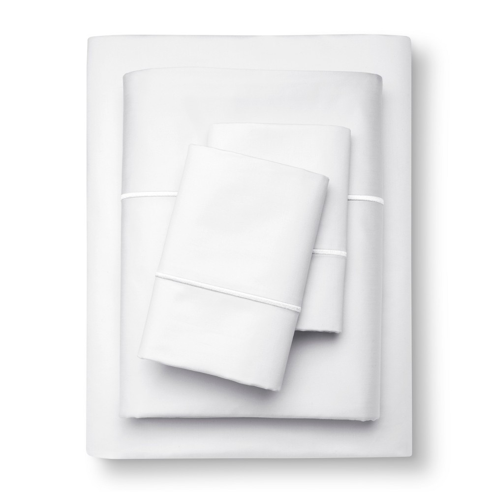 Supima Cotton Sheet Set (Full) White 1000 Thread Count - ...