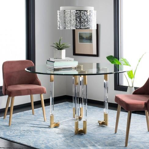 Koryn Acrylic Dining Table - Safavieh