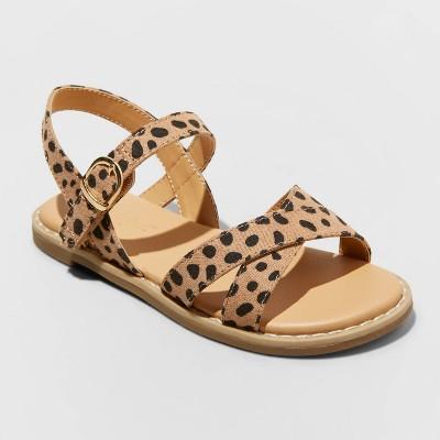 Toddler Girls' Serenity Criss Cross Sandals - Cat & Jack™