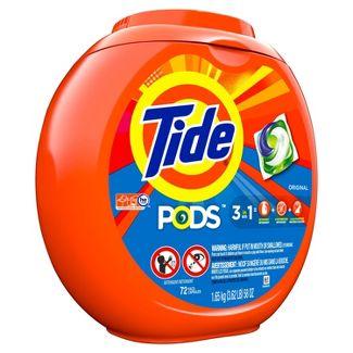 Tide PODS Laundry Detergent Pacs Original - 72ct