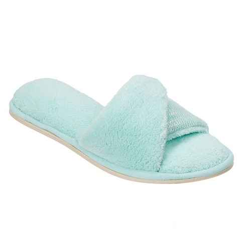 Women's dluxe by dearfoams® Alisse Slide Slippers - image 1 of 7