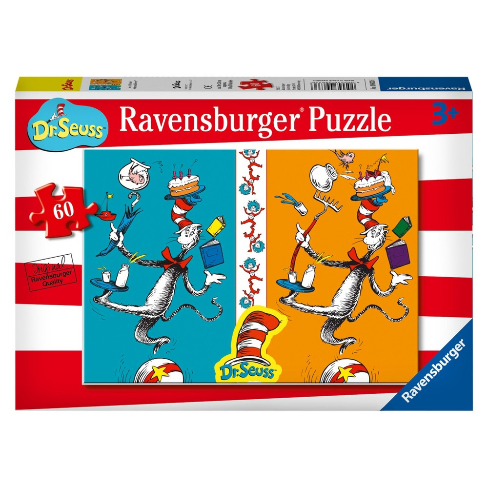 Ravensburger Dr. Seuss: See a Difference? - 60pc Puzzle