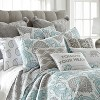 12x24 Adia Elephant Poms Pillow Gray - Homthreads - image 3 of 3