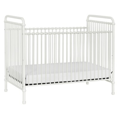 Million Dollar Baby Classic Abigail 3-in-1 Convertible Iron Crib - Washed White