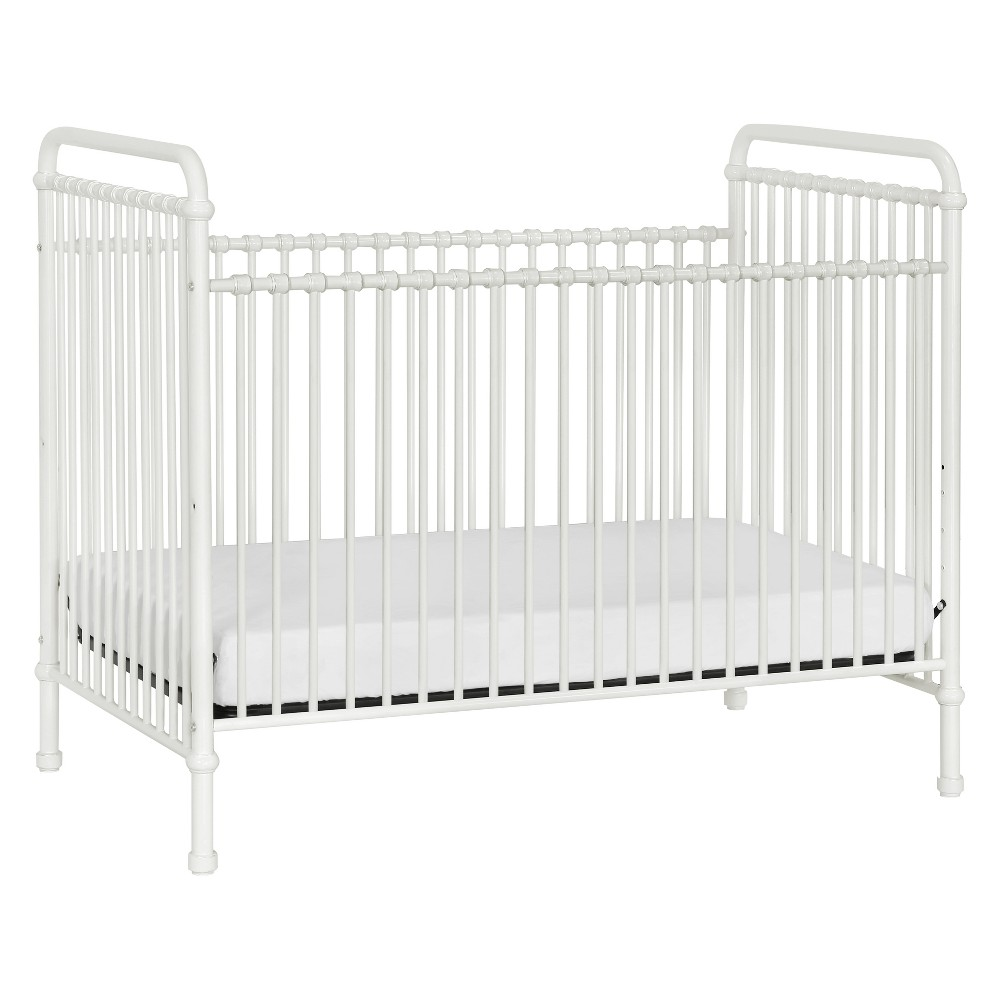 Image of Million Dollar Baby Classic Abigail 3-in-1 Convertible Iron Crib - Washed White