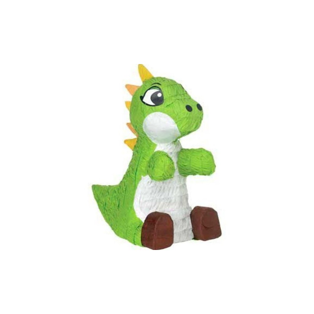 Image of Green Baby Dinosaur Pinata Party Accessories