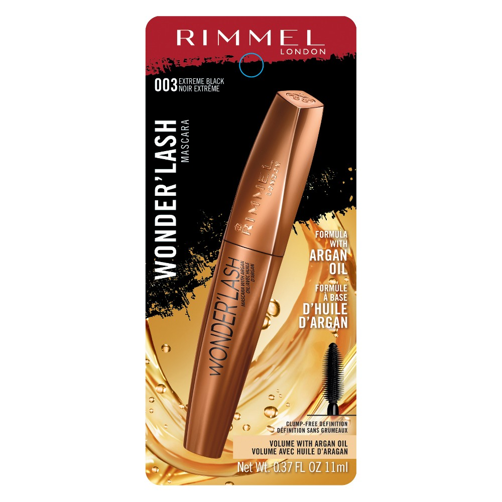 Rimmel Wonderlash Mascara - Extreme Black