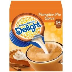 International Delight Pumpkin Spice Coffee Creamer - 24ct