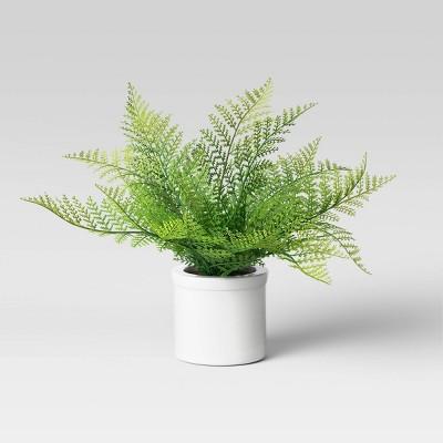 """9"""" x 12"""" Artificial Cinnamon Fern Leaf Plant - Threshold™"""