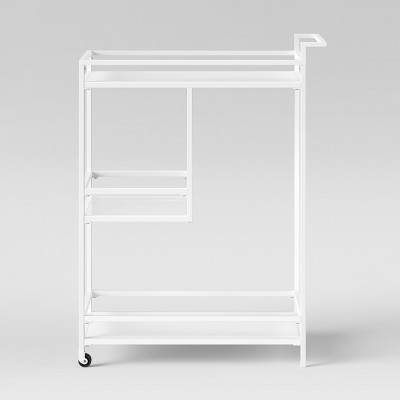 Glasgow Metal Bar Cart White - Project 62™