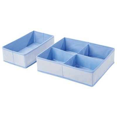 mDesign Child/Baby Drawer and Closet Storage Organizer Combo, Set of 5