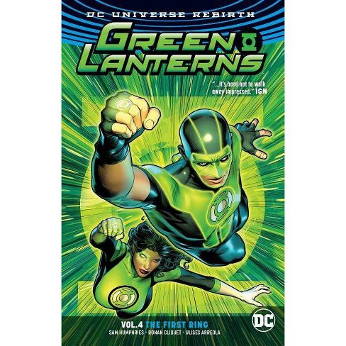 Green Lanterns Vol. 4: The First Rings (Rebirth) - by  Sam Humphries (Paperback) - image 1 of 1