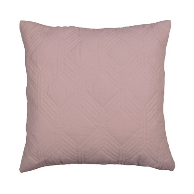 """18""""x18"""" Matcha Quilted Velvet Square Throw Pillow - Décor Therapy"""