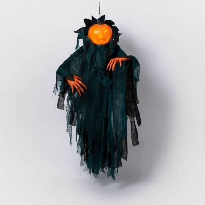 Animated Pumpkin Ghoul with LED Projection Halloween Lighting - Hyde & EEK! Boutique™