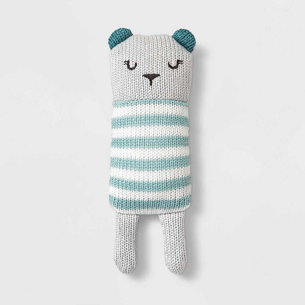 Image of Baby Bunny Rattler - Cloud Island Blue One Size