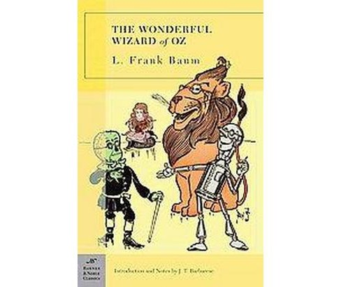 Wonderful Wizard of Oz (Paperback) (L. Frank Baum & J. T. Barbarese) - image 1 of 1