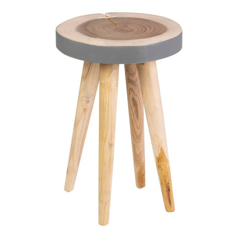 Marcella End Table Gray - East At Main - image 1 of 4