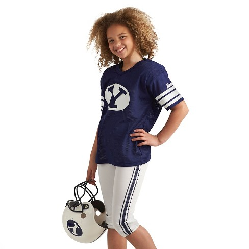 save off b5671 b99d1 Franklin Sports Team Licensed BYU Cougars Deluxe Football Uniform Set