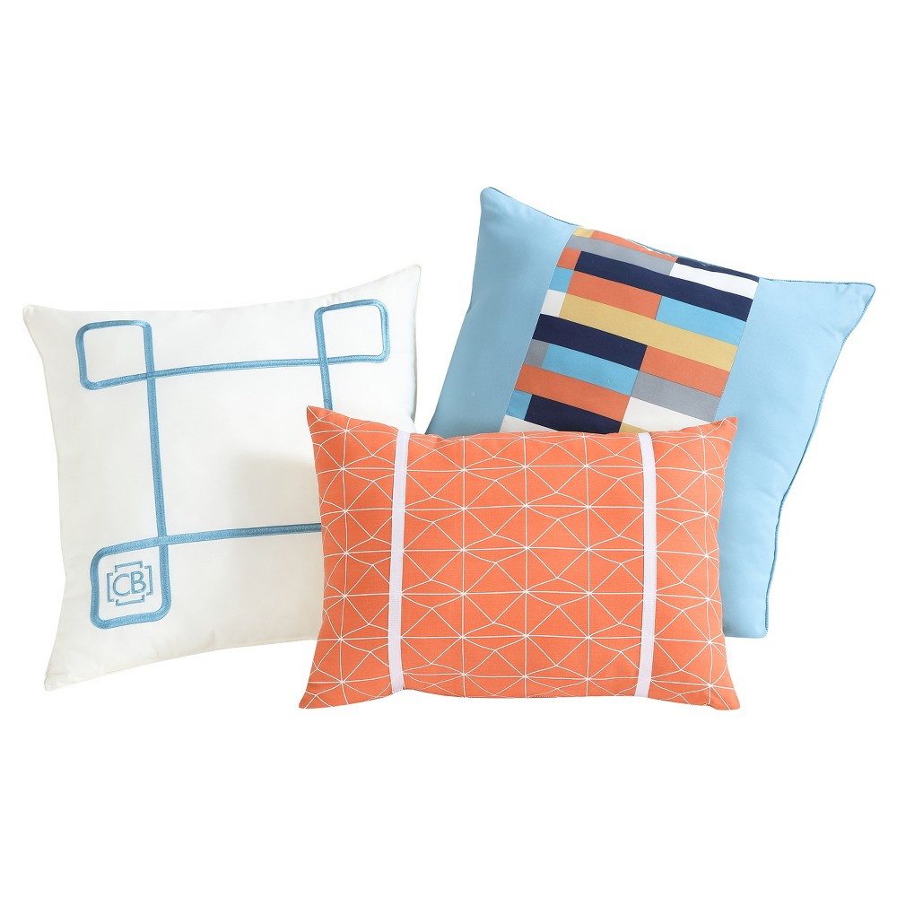Image of Geometric Pillow Pack 3pc - Clairebella
