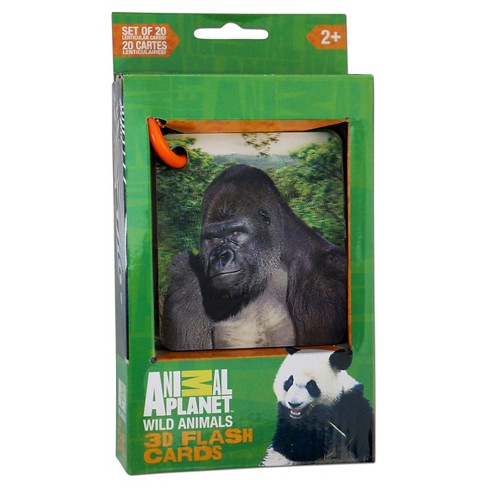 Smart Play Animal Planet Wild Animals 3D Flash Cards - image 1 of 2