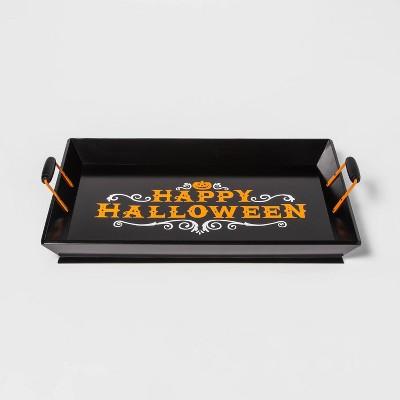 Happy Halloween Wood Decorative Tray - Hyde & EEK! Boutique™
