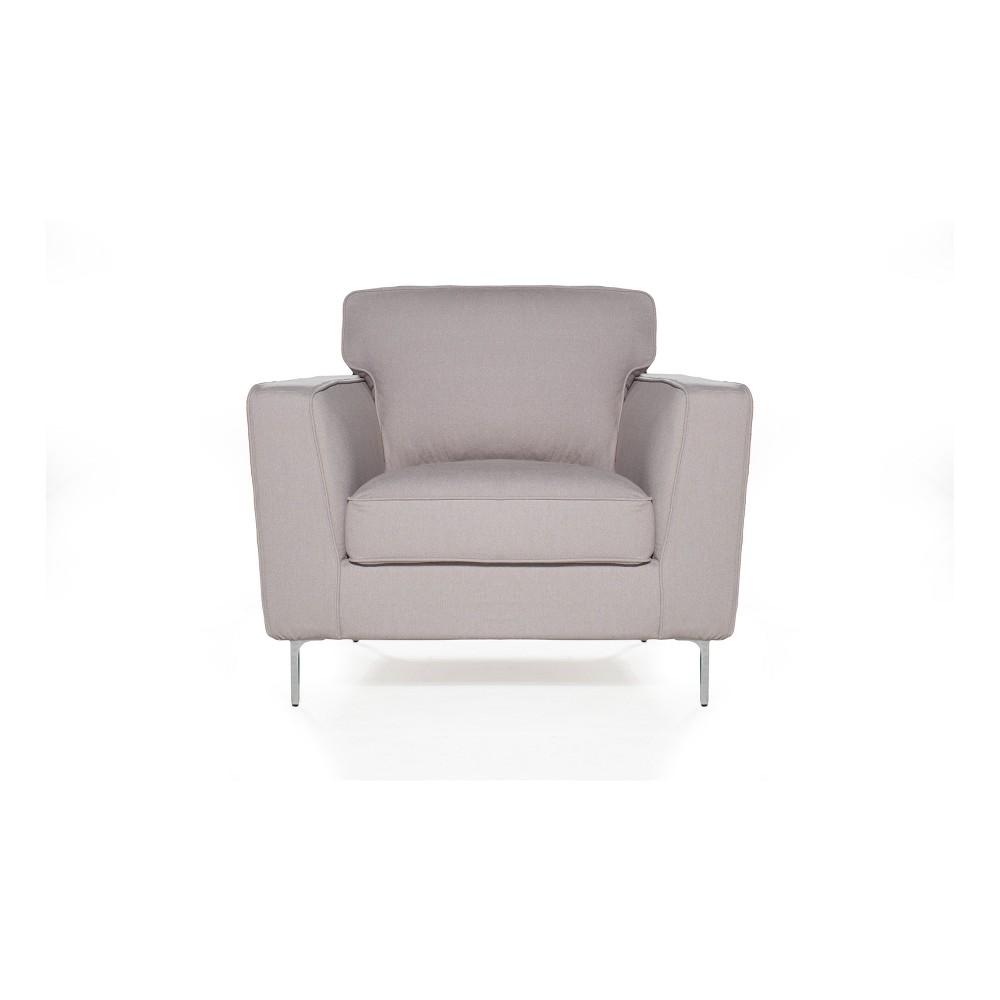 Image of Blake Chair Cotton Flax Light Pebble - Sofas 2 Go