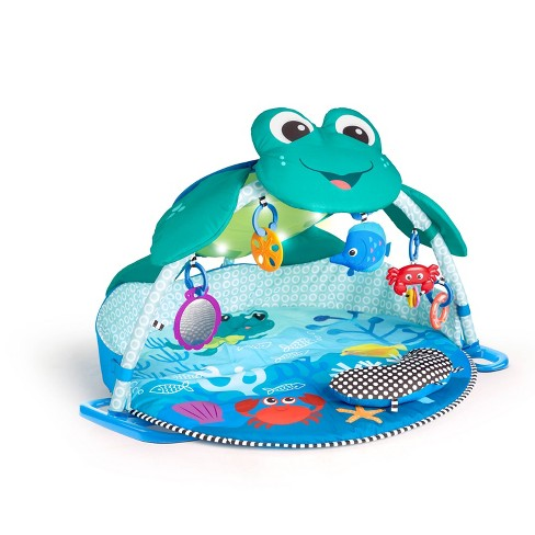 Baby Einstein Neptune Under The Sea Lights And Sounds Activity Gym And Play Mat - image 1 of 4