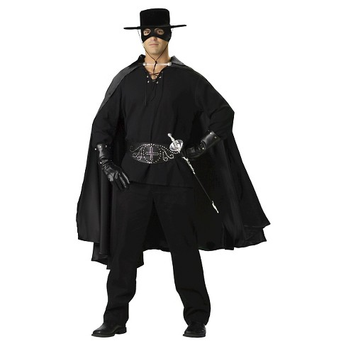 Men's Bandido Costume Black - image 1 of 1