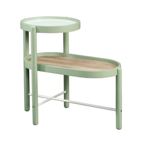Anda Norr Side Table Green - Sauder - image 1 of 7