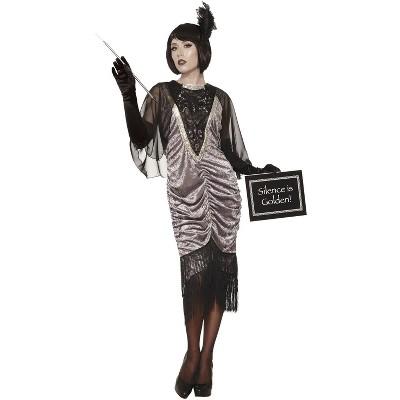 Forum Novelties Silent Movie Flapper Adult Costume