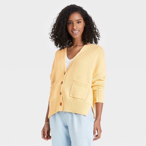 Women's Button-Front Cardigans - A New Day™ - image 1 of 3