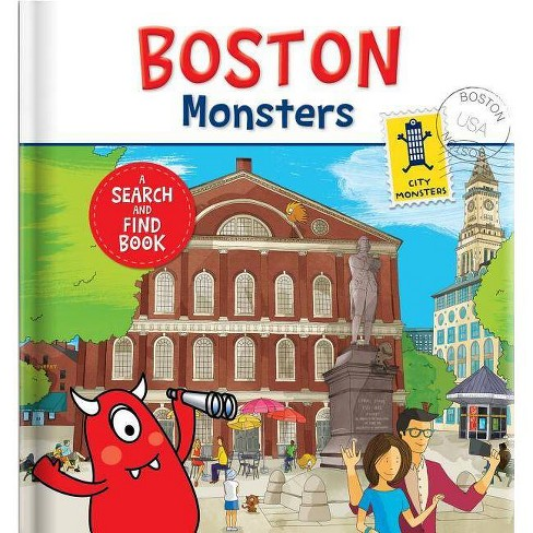 Boston Monsters - (Board_book) - image 1 of 1