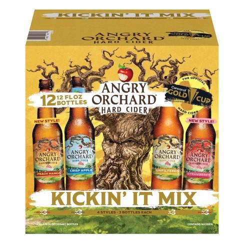 Angry Orchard Hard Cider Seasonal Variety Pack - 12pk/12 fl oz Bottles - image 1 of 4