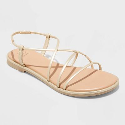 Women's Sierra Strappy Sandals - A New Day™