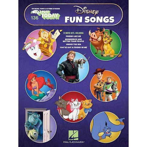 Disney Fun Songs - (Paperback) - image 1 of 1