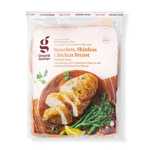 Boneless & Skinless Chicken Breast - Frozen - 40oz - Good & Gather™ - image 1 of 2