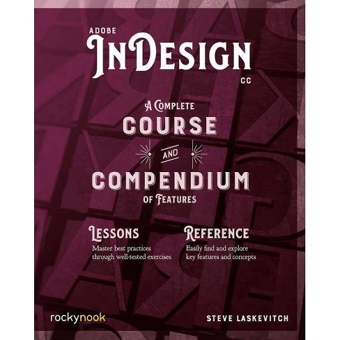 Adobe Indesign CC - by  Stephen Laskevitch (Paperback) - image 1 of 1