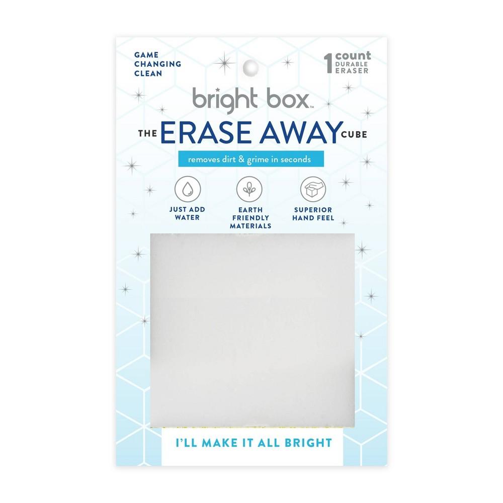 Bright Box Erase Away Cube Scrub Wipe White Melamine
