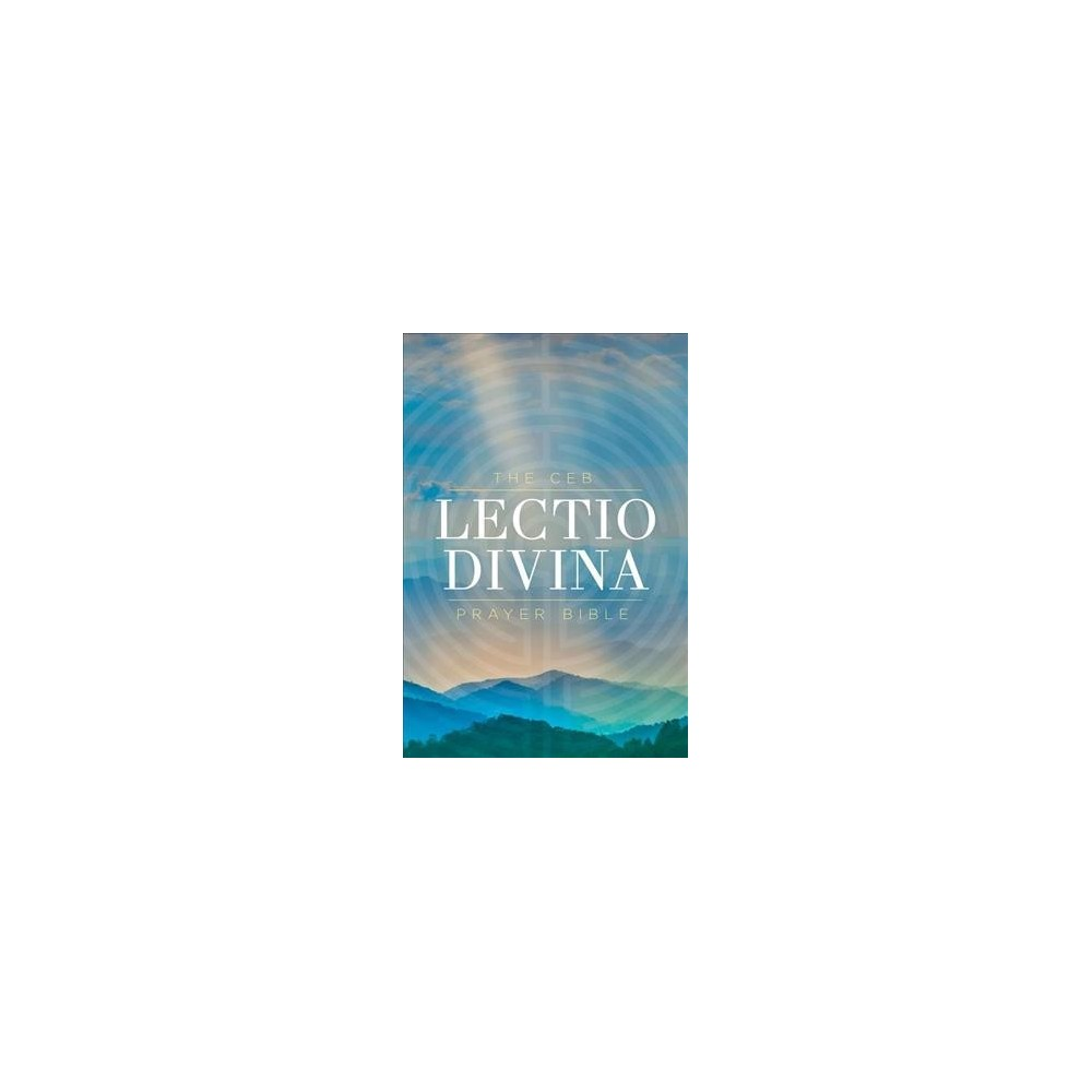 Ceb Lectio Divina Prayer Bible - (Hardcover)
